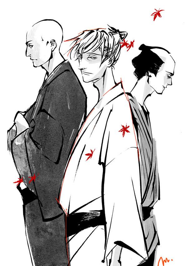 homage à Goyô de Ono Natsume par est em