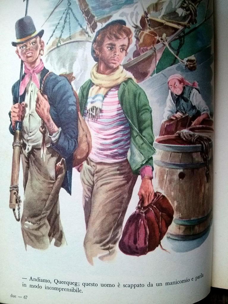 illustration de Musatti - Moby Dick, editrice Boschi, 1963