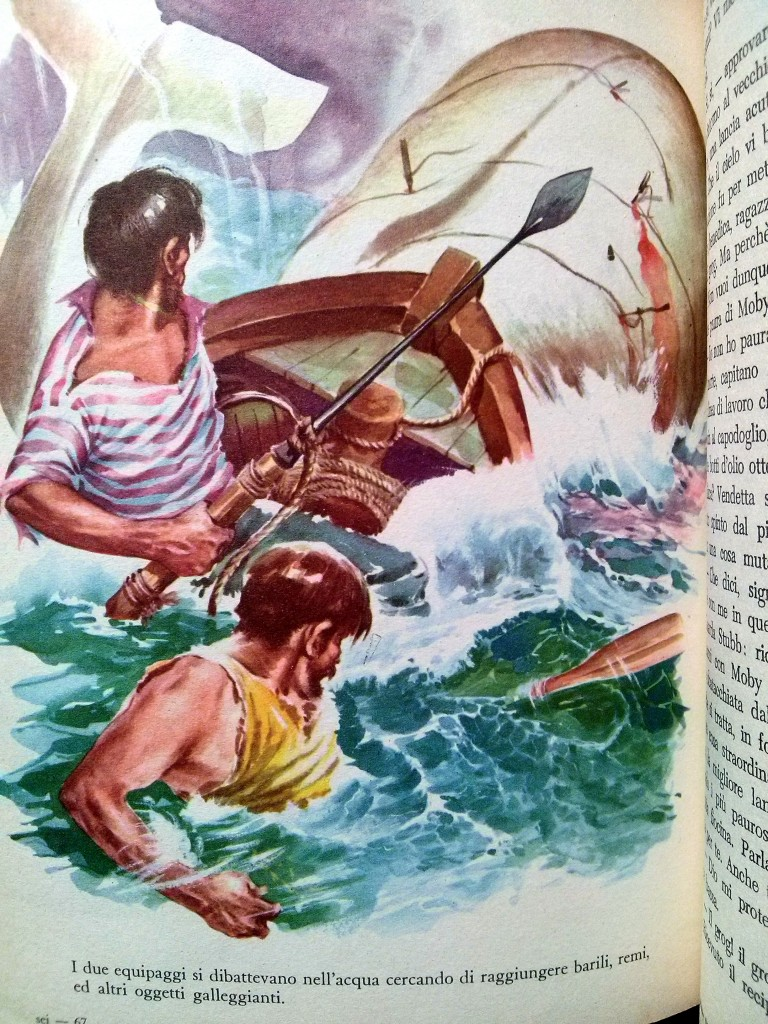 illustration de Musatti - Moby Dick, editrice Boschi, 1963
