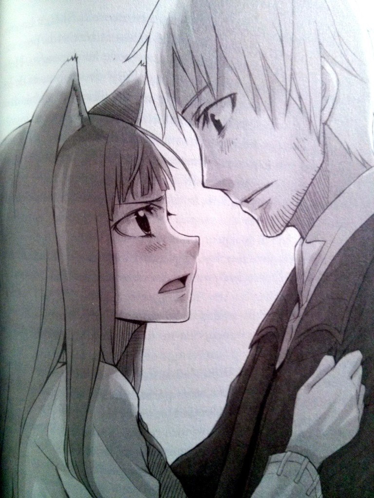Holo et Lawrence par Ayakura