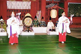 Théâtre japonais fête traditionnelle