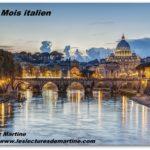 Un mois en Italie 2019