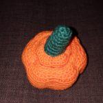 Le crochet et moi #7 – mini panier courge pour Halloween