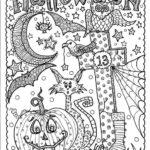 idées coloriages et déco pour Halloween