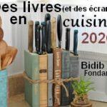 Des livres en cuisine – le menu 2020