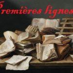 Premières lignes #27 – Fahrenheit 451