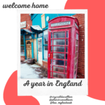 Challenge A year in England