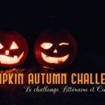 Pumpkin Automn Challenge – mon bilan de septembre