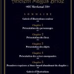 The Ancient Magus Bride guide book – Merkmal