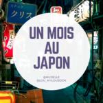 Un mois au Japon 2020