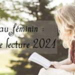 Lire au féminin, challenge lecture 2021